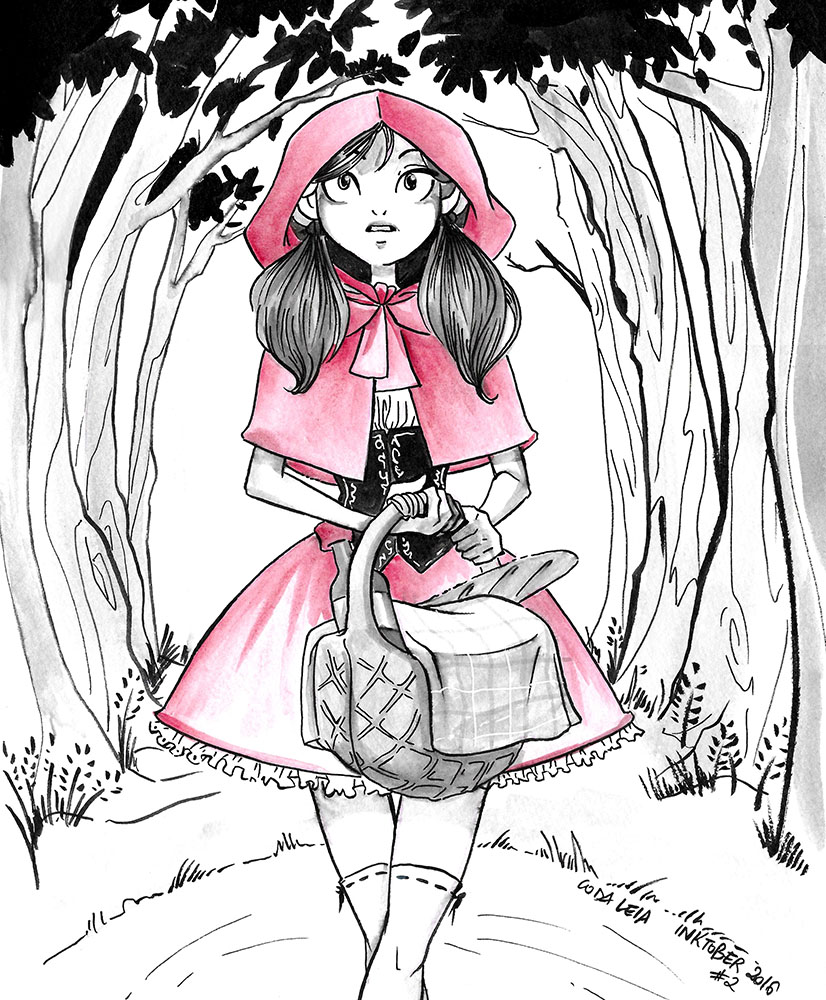 Fairy tales - Little Red Riding Hood