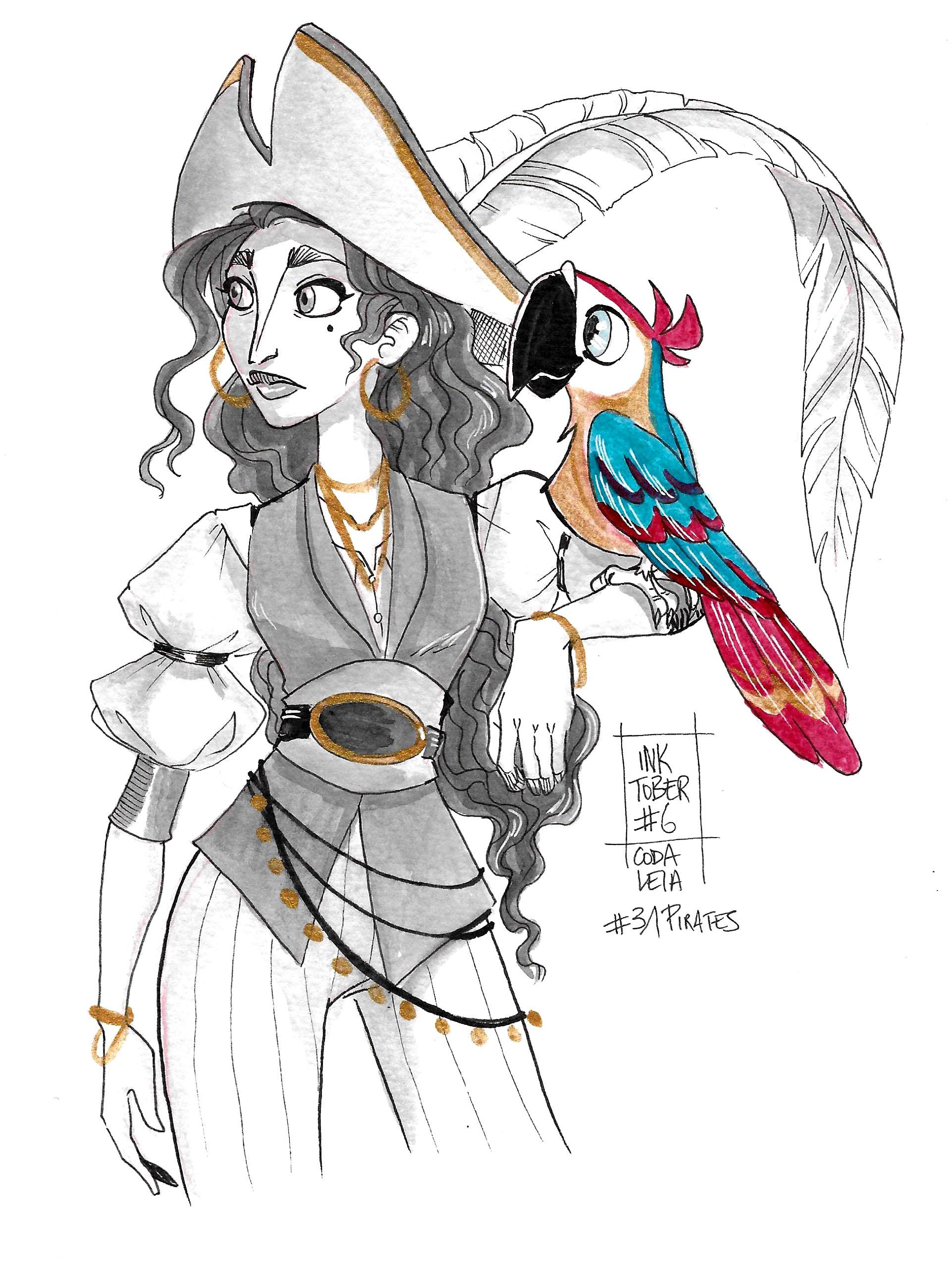 31 Pirates - Parrot