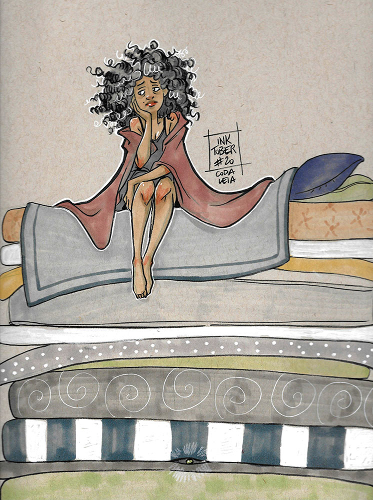 Fairy tales - The Princess and the Pea