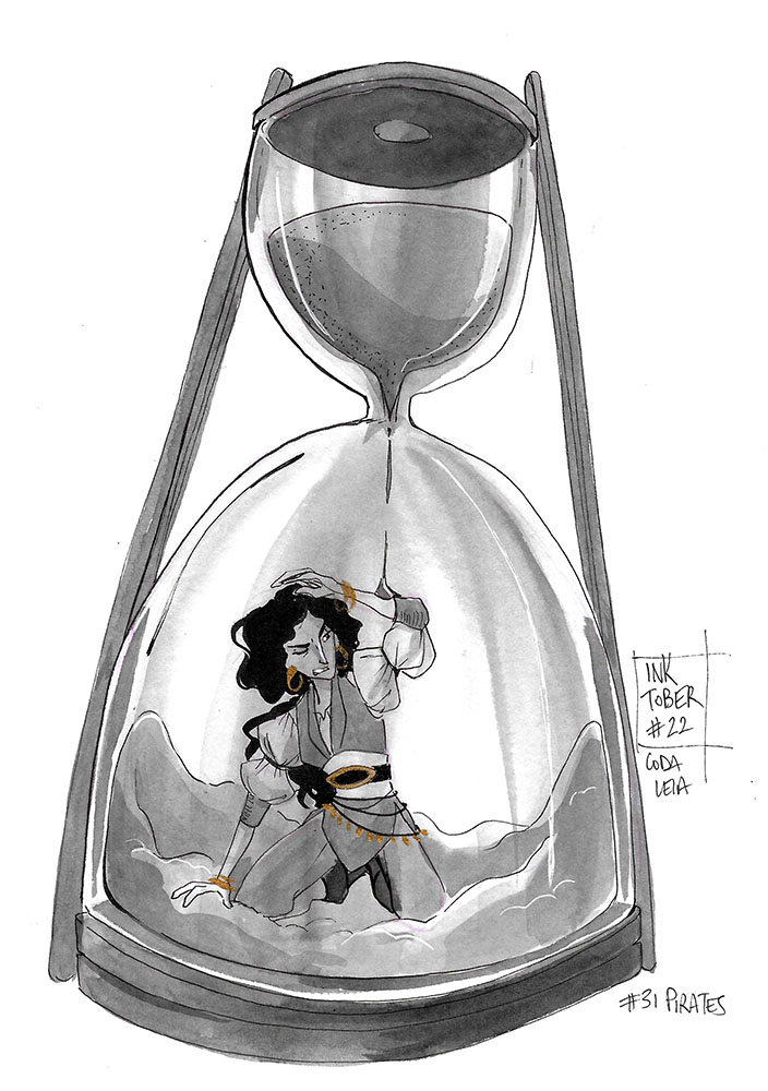 31 Pirates - Hourglass