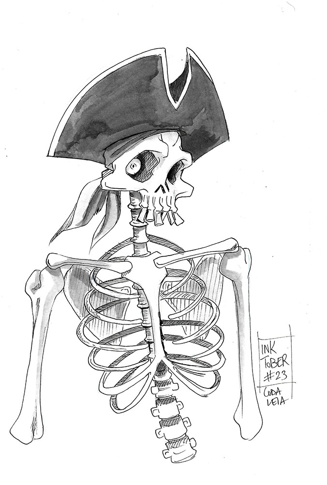 31 Pirates - Skeleton