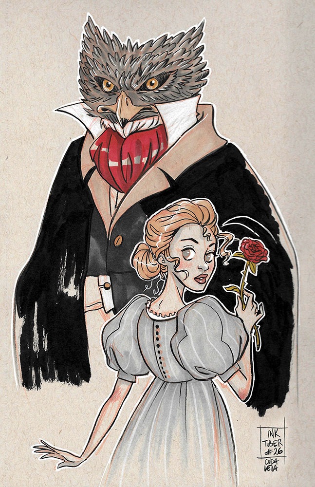 Fairy tales - beauty and the beast