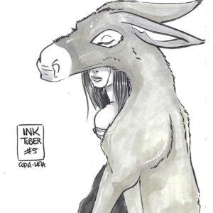 Inktober – Donkey Skin