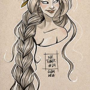 Inktober – Rapunzel