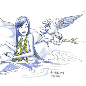 Mermay – The Mermaid and the Seagull
