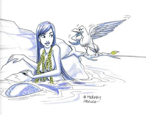 Mermay - seagull