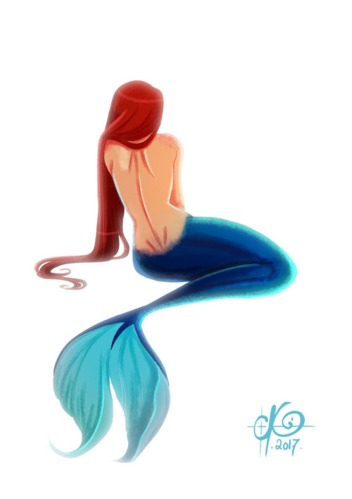 Mermay from the back