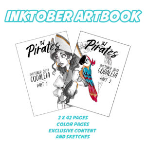 Inktober • 31 Pirates • Artbook (FRENCH)