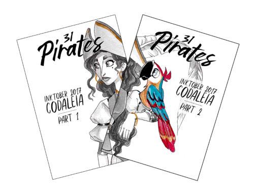 Covers 31 Pirate Artbooks