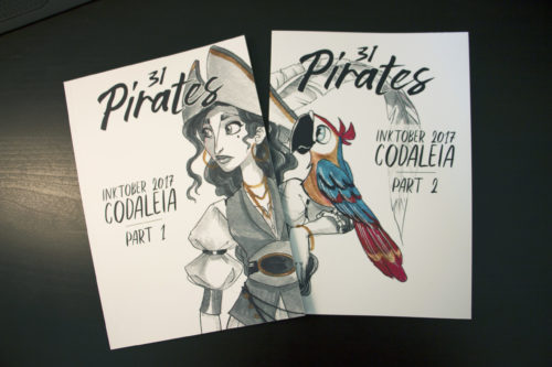 Covers artbook 31 Pirates