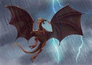 Commission Pern Dragon